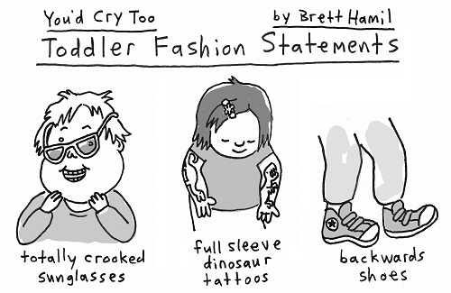 Brett Hamil toddler fashion