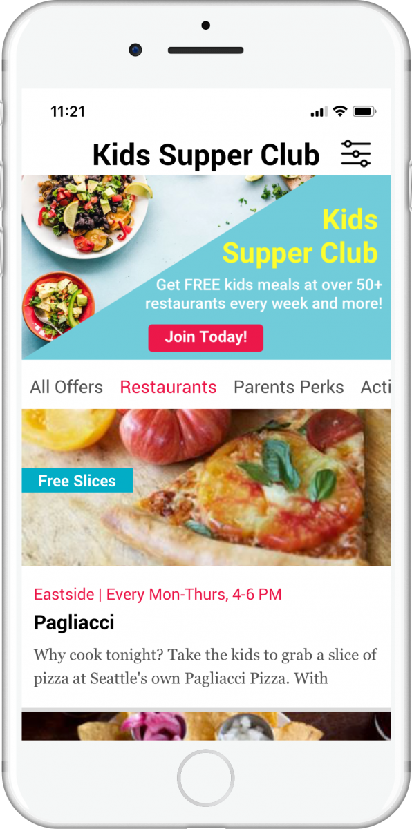 Seattle Kids places to eat - Supper Club